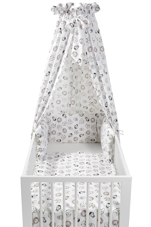 Babyset 4-teilig  Kinderbett Animal - Animal - 100x135cm