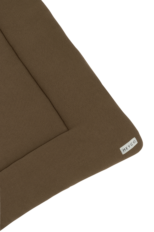 Boxkleed Knit Basic - Chocolate - 77x97cm