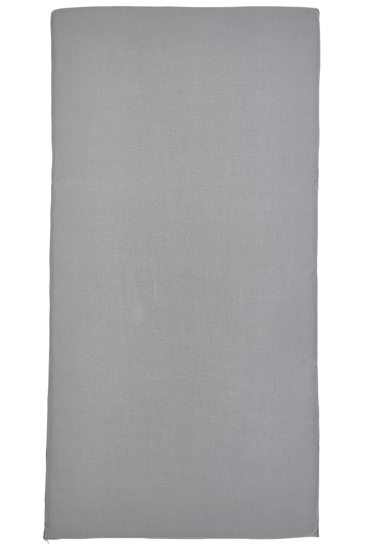 Jersey Campingbed Matrashoes - Grijs - 60x120cm