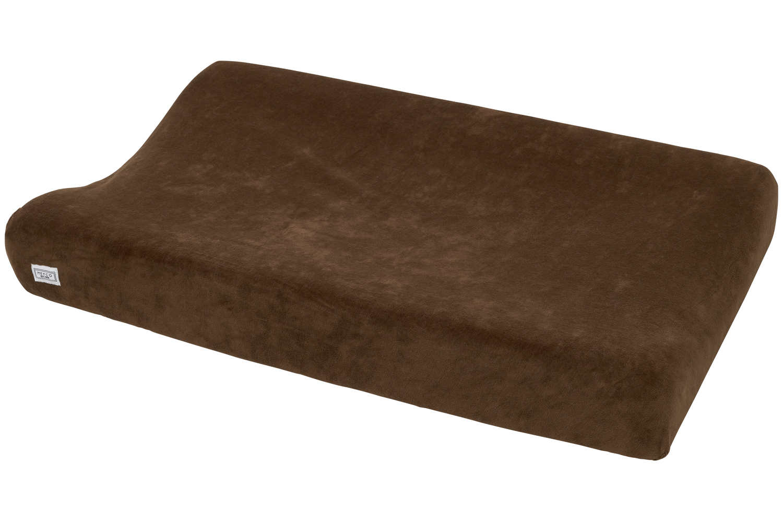 Aankleedkussenhoes Velvet - Chocolate - 50x70cm