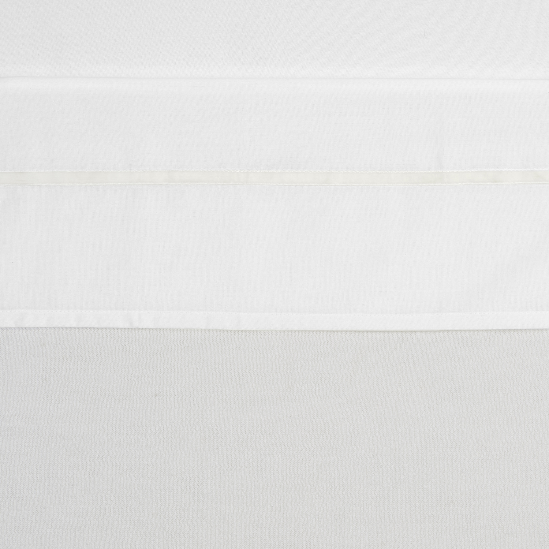 Wieglaken Bies Velvet - Offwhite - 75x100cm