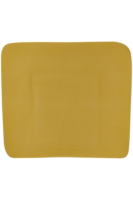 Aankleedkussenhoes 3K Basic Jersey - Honey Gold - 85x75cm