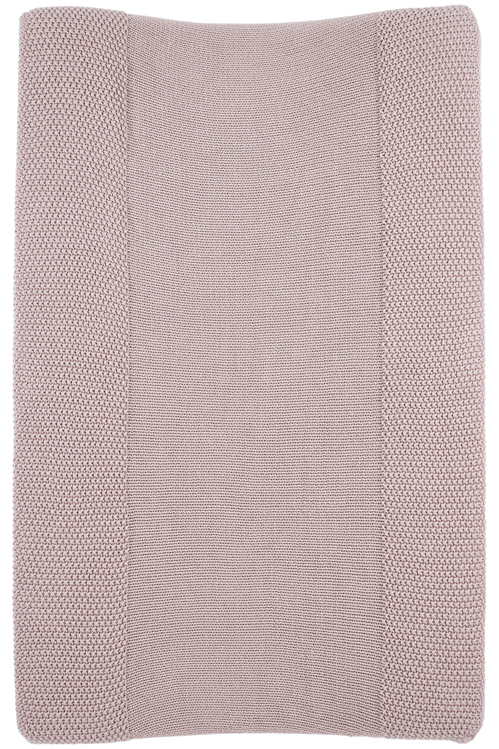 Organic Changing Pad Cover Mini Relief - Lilac - 50X70 cm