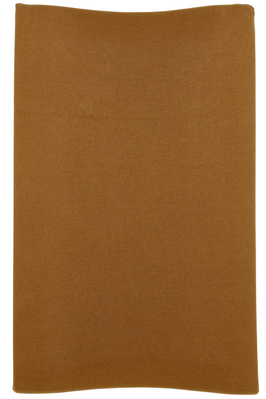 Aankleedkussenhoes Knit Basic - Camel - 50x70cm