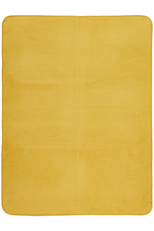 Ledikantdeken Uni - Honey Gold - 100x150cm