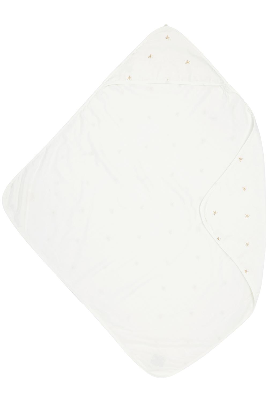 Meyco X Mrs. Keizer Bamboe Badcape Ibiza - Warm Sand - 90x90 cm