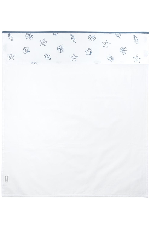 Crib Sheet Shells - Denim - 75X100cm
