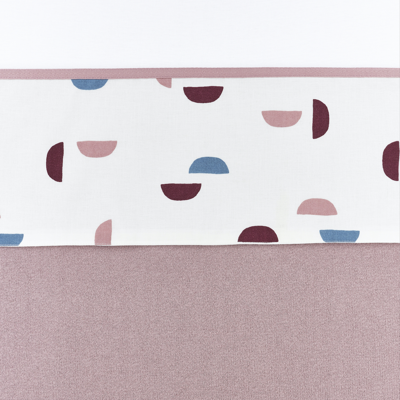 Bettlaken groß Shapes - Lilac - 100x150cm