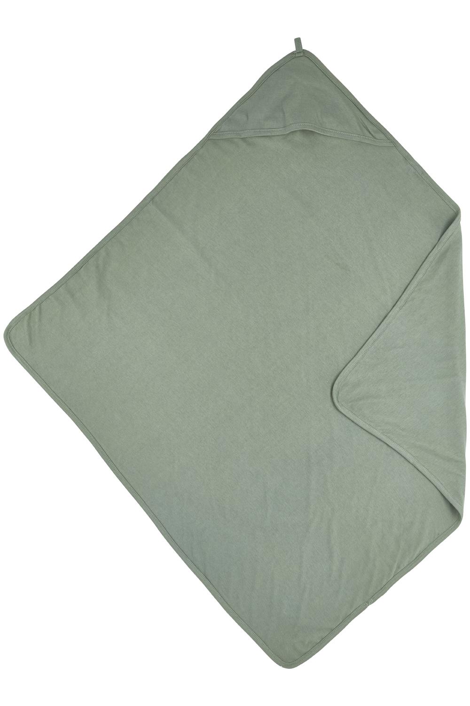 Kapuzentuch Basic Jersey - Forest Green - 80x80cm