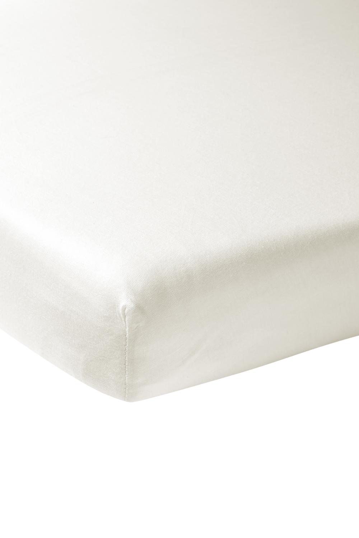 Jersey Hoeslaken - Offwhite - 60x120cm