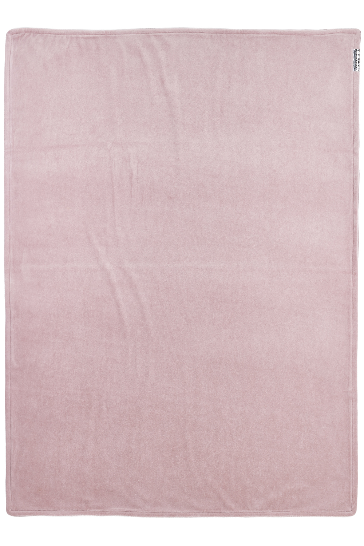 Ledikantdeken Velvet Knit Basic - Lilac - 100x150cm