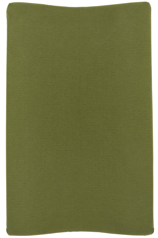 Aankleedkussenhoes Knit Basic - Avocado - 50x70cm