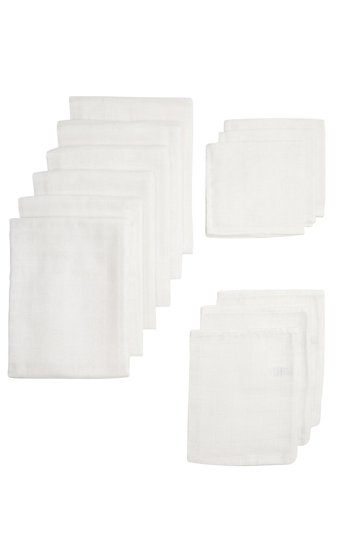 Uni white hydrophilic GOTS