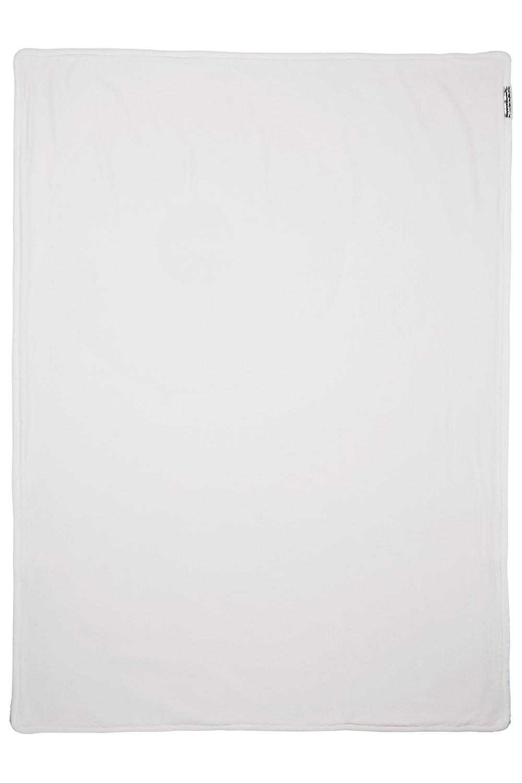 Wiegdeken Velvet Relief Mixed - Roze - 75x100cm