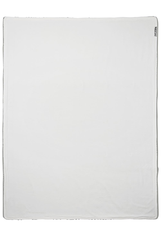 Ledikantdeken Velvet Relief Mixed - Stone Green - 100x150cm