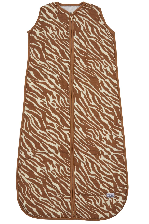 Hydrofiel Slaapzak Zebra - Camel - 90cm