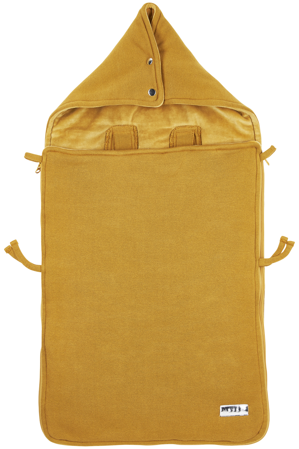 Fußsack Knit Basic - Honey Gold - 40x82cm