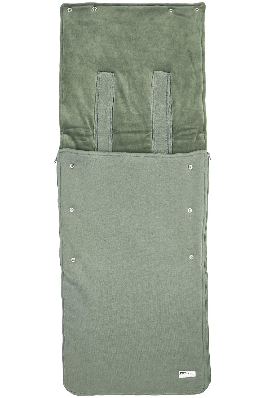 Buggy Voetenzak Knit Basic - Forest Green