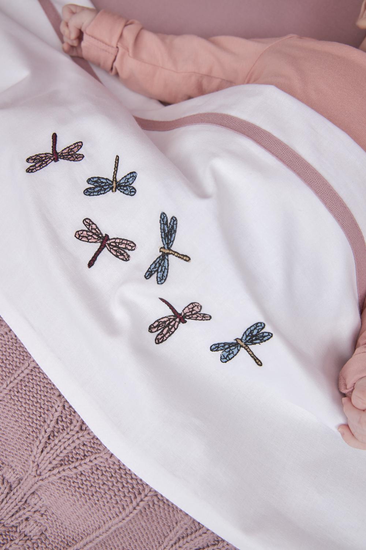 Wieglaken Libelle - Lilac - 75x100cm