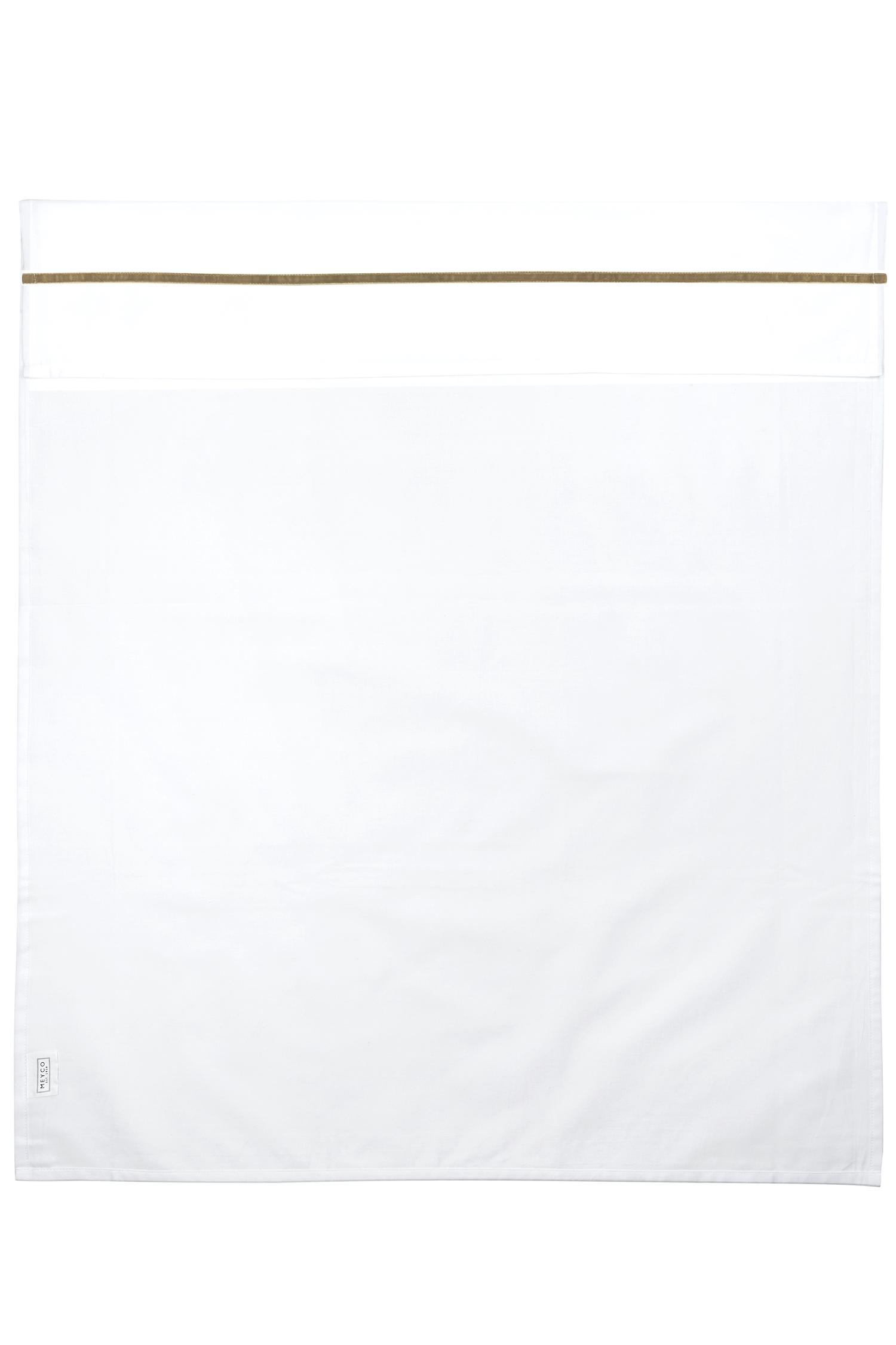 Ledikantlaken Bies Velvet - Taupe - 100x150cm