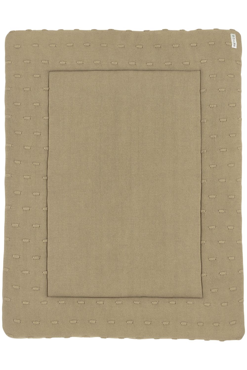 Boxkleed Knots - Taupe - 77x97cm