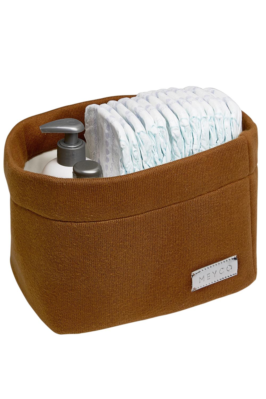Commodemand Small Knit Basic - Camel - 21x16xh16cm
