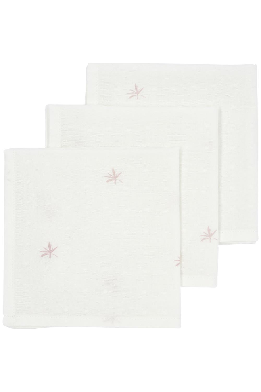 Meyco X Mrs. Keizer 3-pack Bamboe Monddoekjes Ibiza - Lilac - 30x30 cm