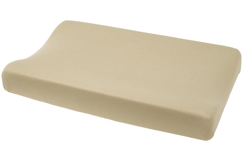 Aankleedkussenhoes Basic Jersey - Sand - 50x70cm