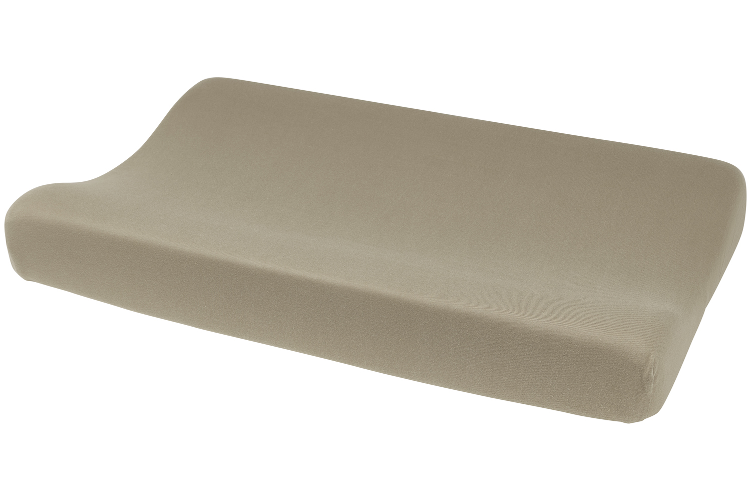 Aankleedkussenhoes Basic Jersey - Taupe - 50x70cm