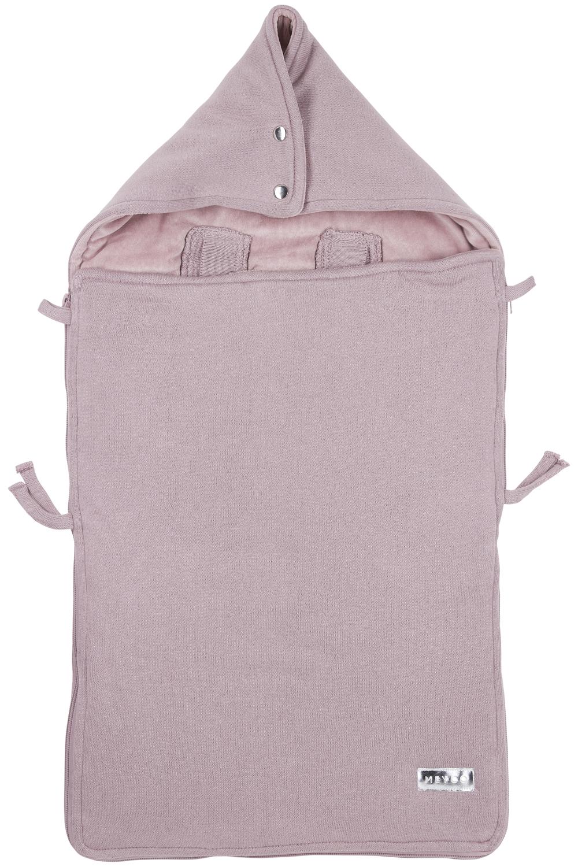 Voetenzak Knit Basic - Lilac - 40x82cm