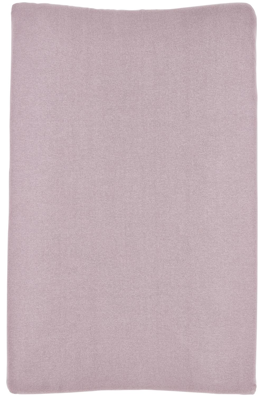 Aankleedkussenhoes Knit Basic - Lilac - 50x70cm