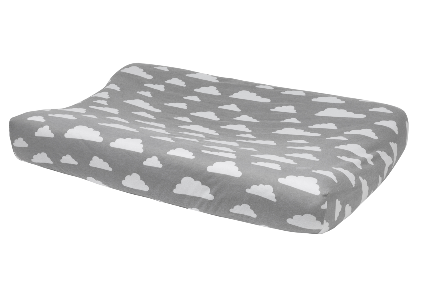 Changing Pad Cover Little Clouds - Grey - 50X70cm