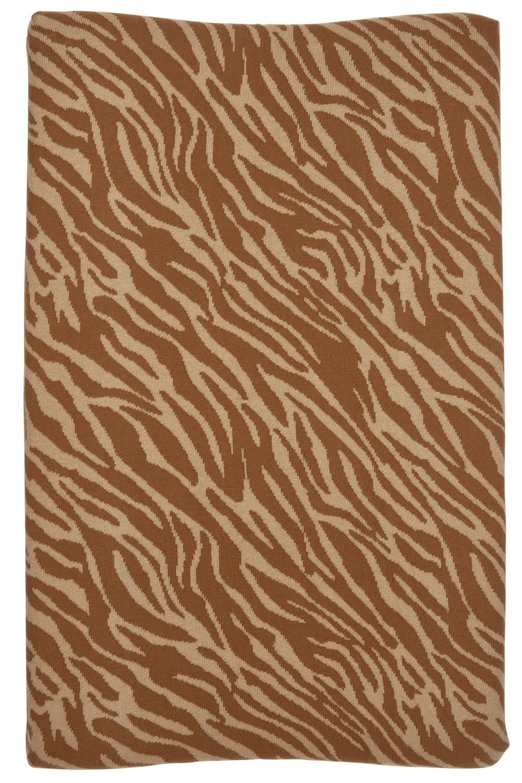 Aankleedkussenhoes Zebra - Camel - 50x70cm