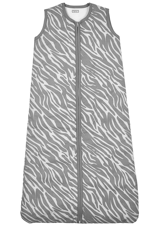 Babyslaapzak Gevoerd Zebra - Grijs - 90cm