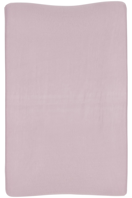 Aankleedkussenhoes Basic Jersey - Lilac - 50x70cm