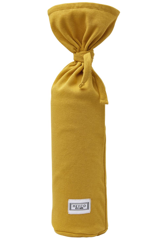Kruikenzak Basic Jersey - Okergeel - 13xh35cm