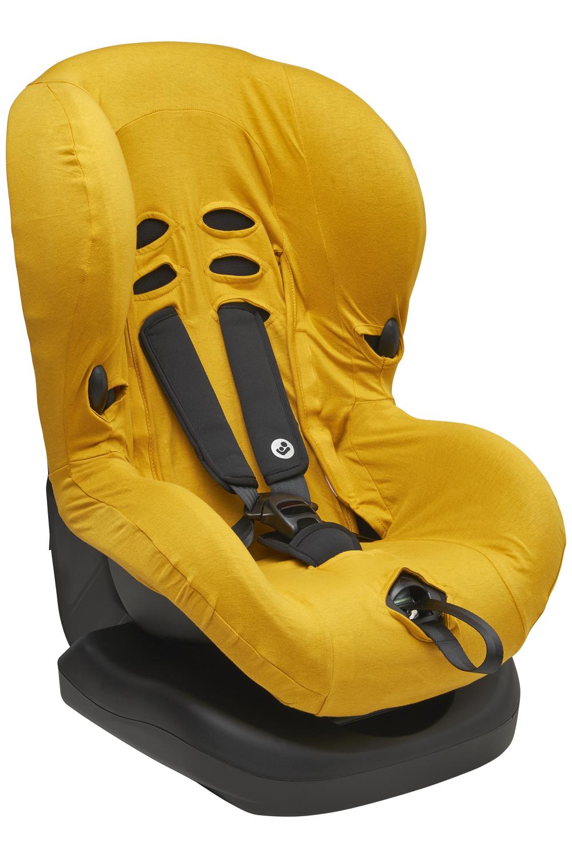 Autostoelhoes Basic Jersey - Okergeel - Groep 1