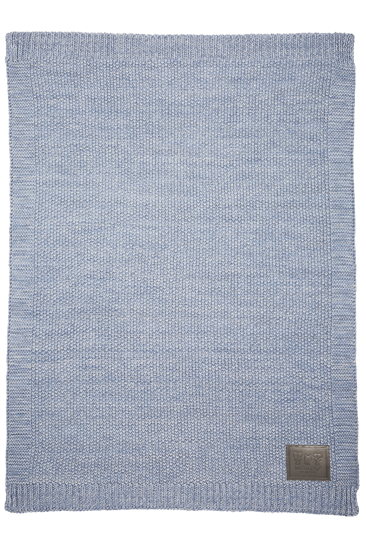 Wiegdeken Woezel&Pip - Blauw - 75x100cm