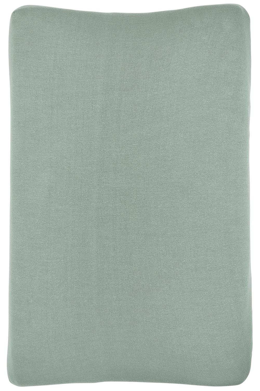 Aankleedkussenhoes Knit Basic - Stone Green - 50x70cm