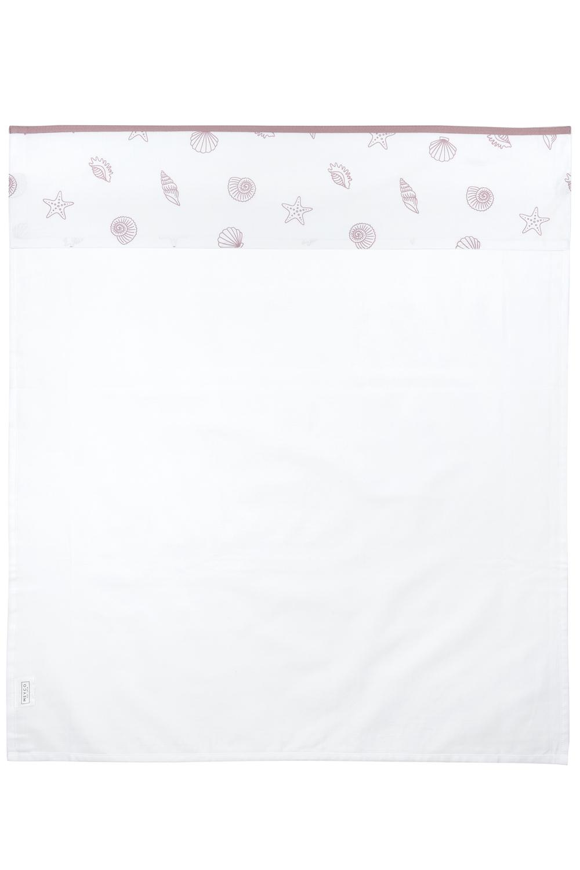 Crib Sheet Shells - Lilac - 75X100cm
