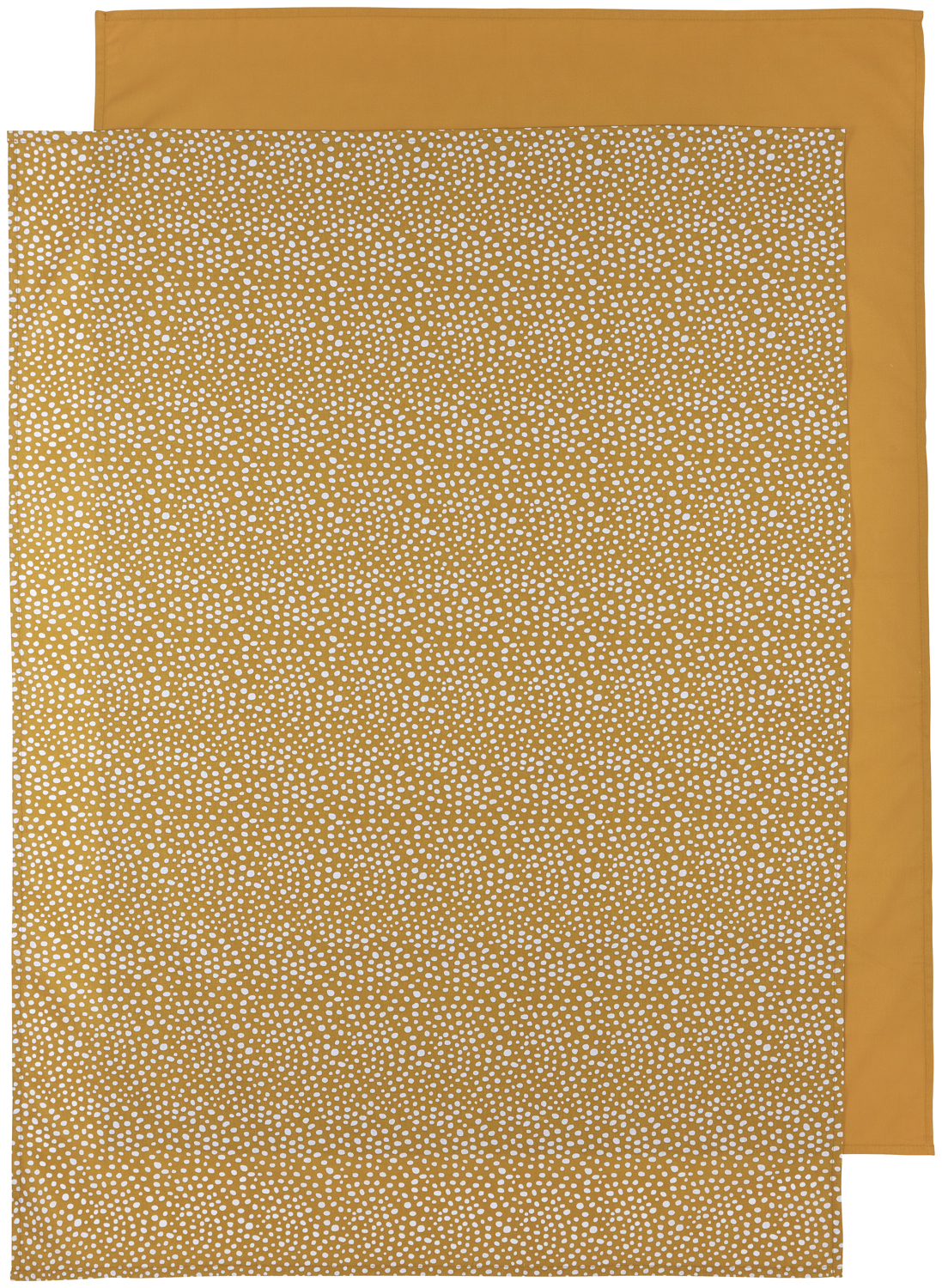 Wieglaken 2-Pack Cheetah/Uni - Honey Gold - 75x100cm