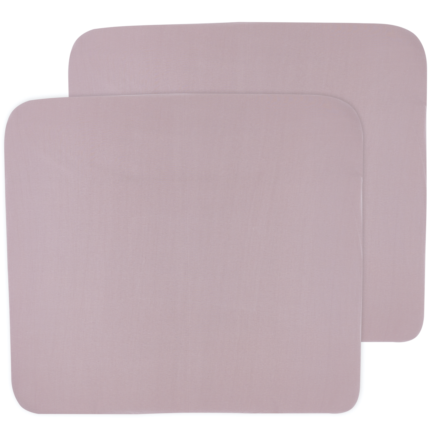 Aankleedkussenhoes 3K 2-pack Basic Jersey - Lilac - 85x75cm