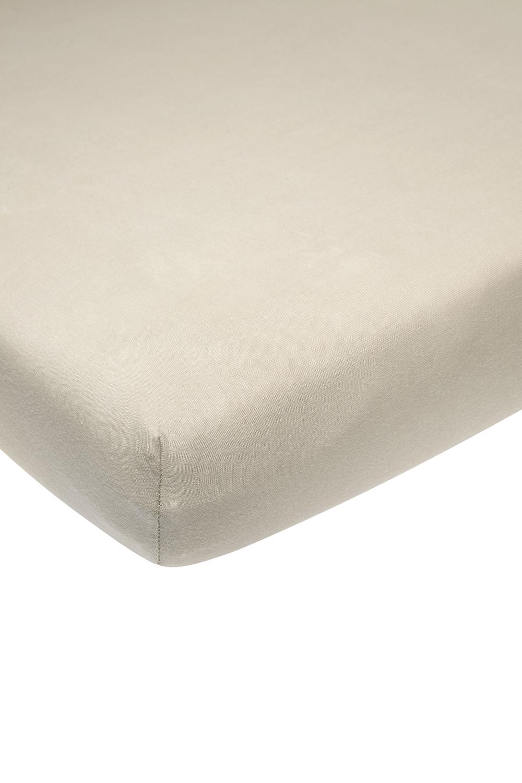 Jersey Hoeslaken Wieg - Sand - 40x80/90cm