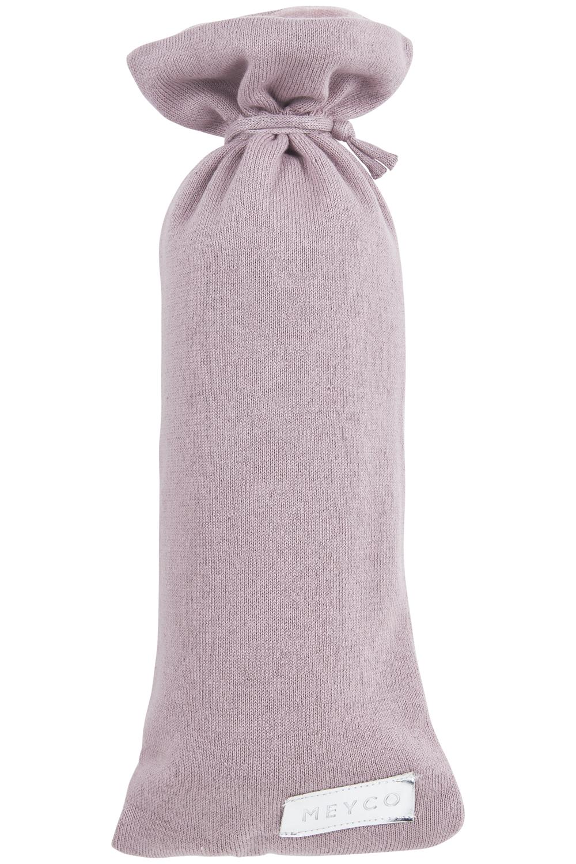 Wärmflaschenbezug Knit Basic - Lilac - 13xh35cm