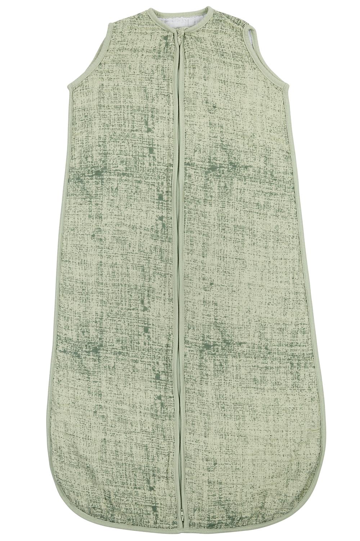 Hydrofiele Slaapzak Fine Lines - Forest Green/Mint - 70cm