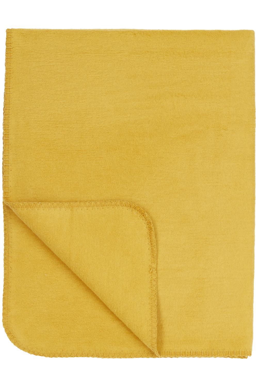 Wiegdeken Uni - Honey Gold - 75x100cm