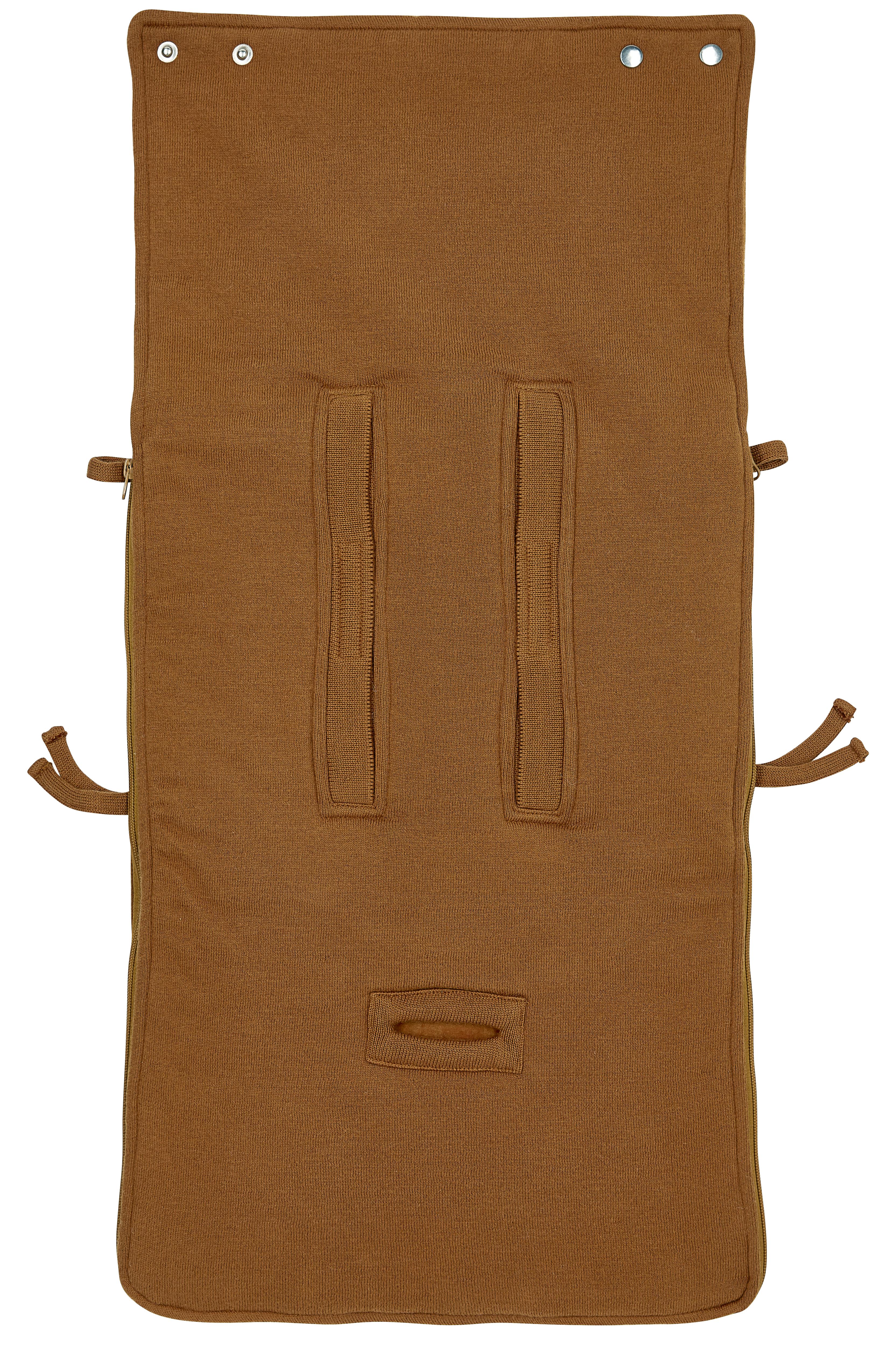 Voetenzak Knit Basic - Camel - 40x82cm