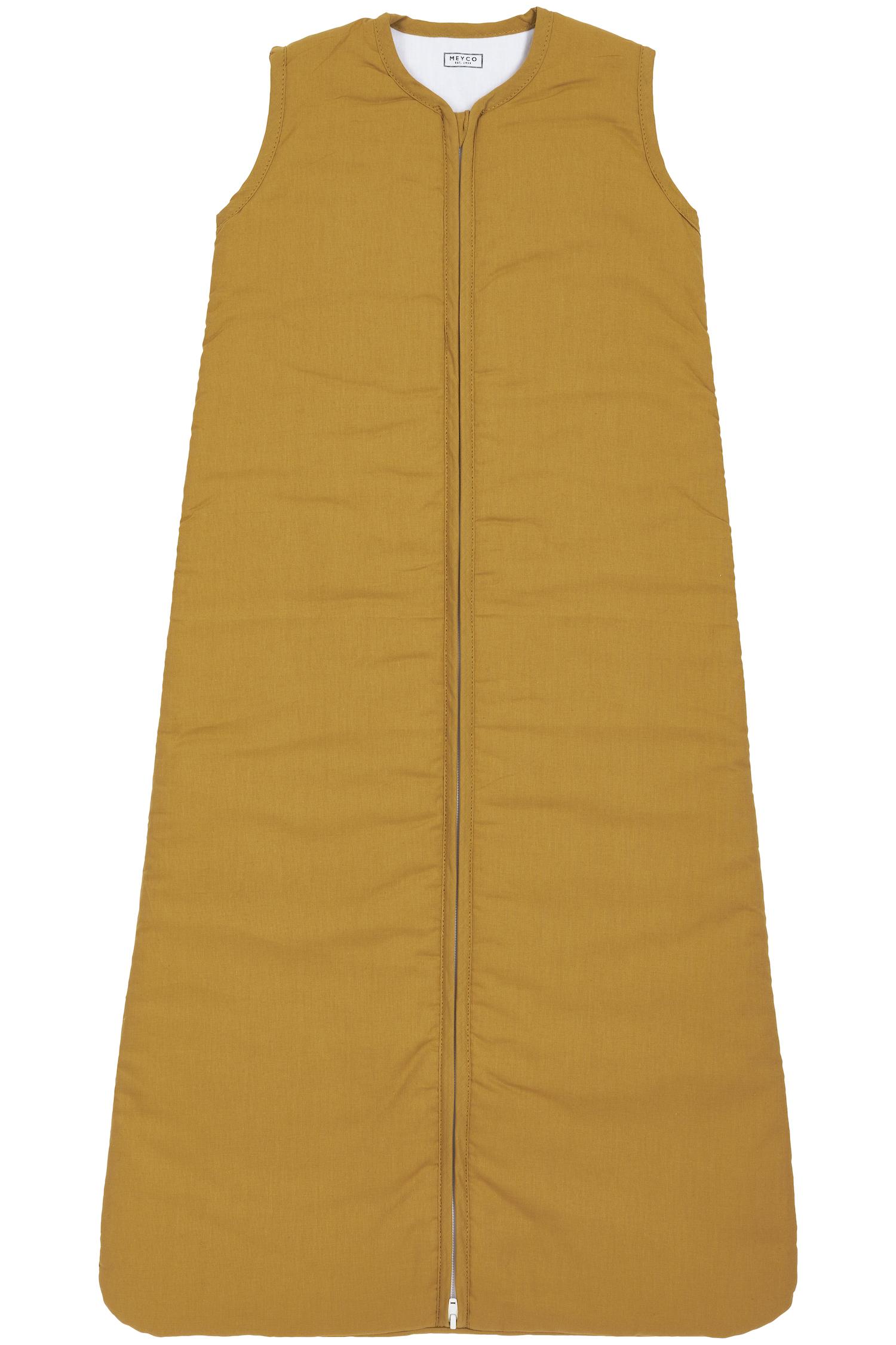 Schlafsack Gefüttert Uni - Honey Gold -110cm