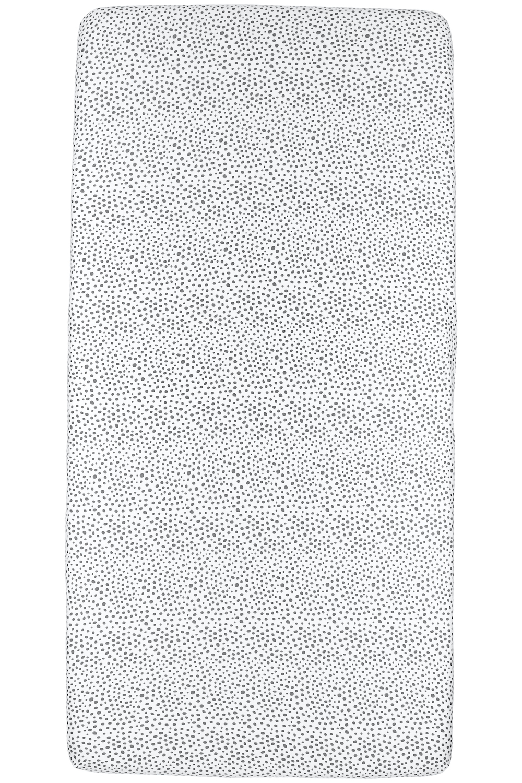 Jersey Hoeslaken Cheetah - Grijs - 60x120cm