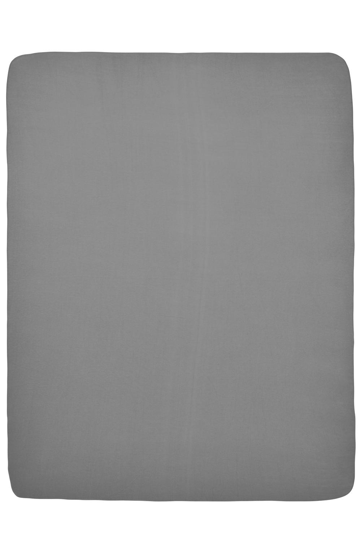Jersey Hoeslaken Boxmatras - Grijs - 75x95cm